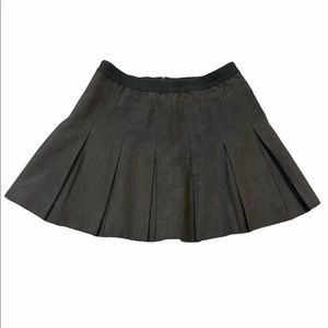 Vtg Lily's of Beverly Hills mini skirt pleated (M)